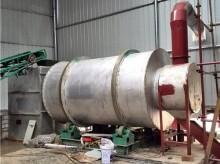 时产20吨的大型河沙烘干机
