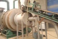 沙子烘干机排气管道的连接与安装