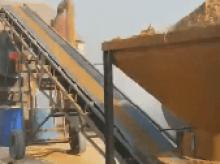 沙子烘干设备现场调试