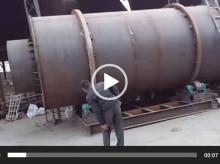 重庆20吨烘干机安装现场