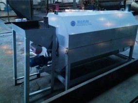 电加热小型沙子烘干机-两吨/时