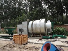 时产8吨的沙子烘干机