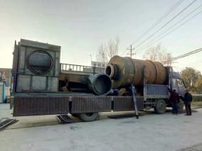 时产10吨的大型沙子烘干机