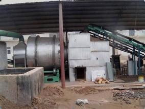 十吨河沙烘干机