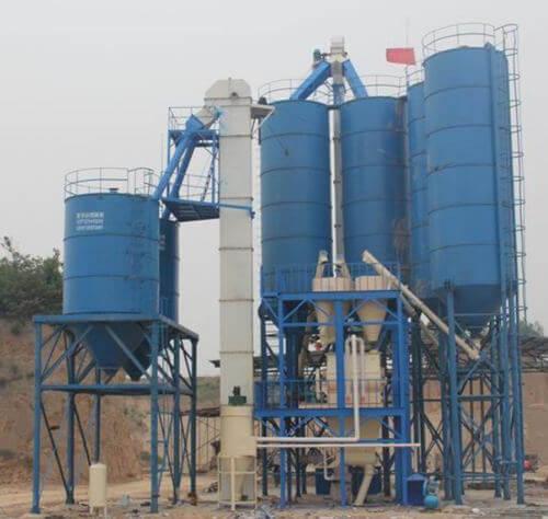大型干粉砂浆机组
