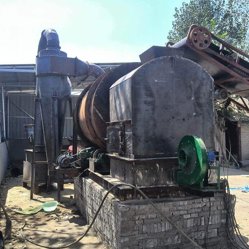 河南南阳客户(二)-河沙烘干机