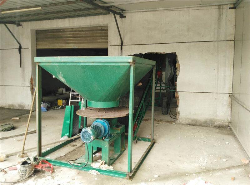 江苏苏州客户大型沙子烘干机现场