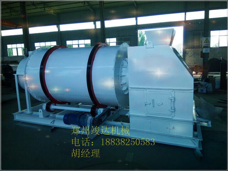 时产4吨的小型沙子烘干机