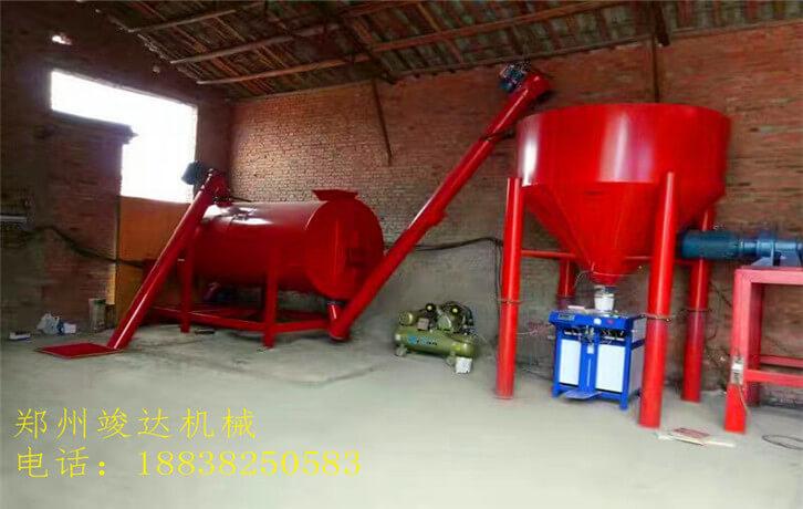 简易干粉生产线