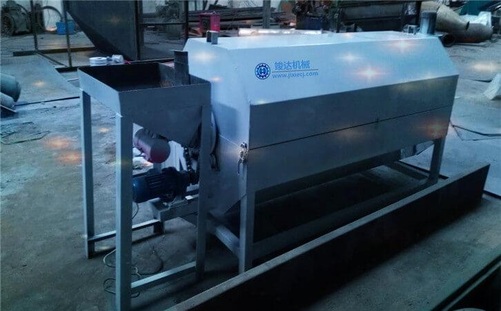 时产1吨的小型沙子烘干机