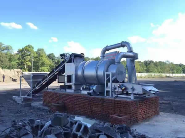 河砂烘干机怎么环保使用
