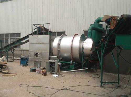 五吨沙子烘干机