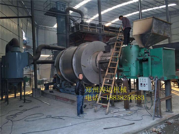 常州15吨沙子烘干机01