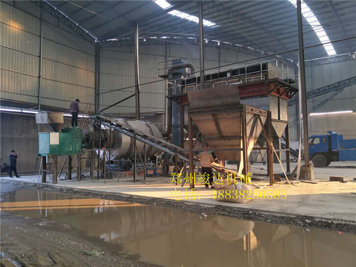 常州15吨沙子烘干机02
