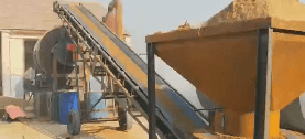 沙子烘干机